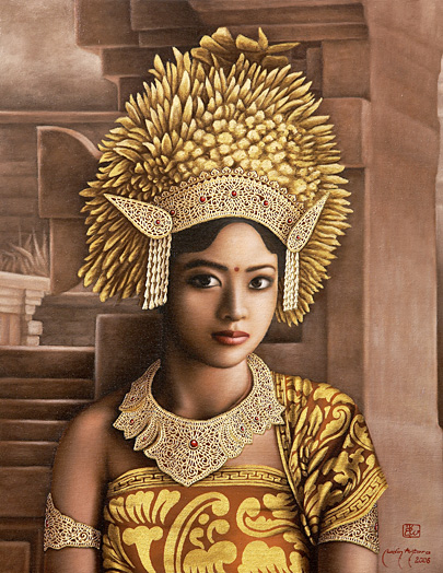 The Exotic Beauty of a Balinese Woman